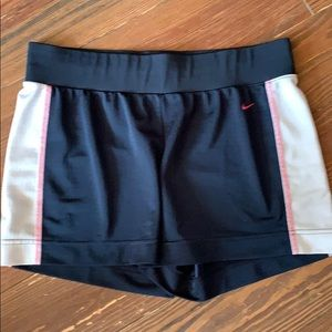 Nike navy athletic casual shorts medium